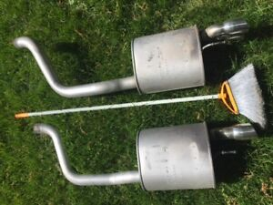 Corvette (2006) Dual Exhaust System - Like New