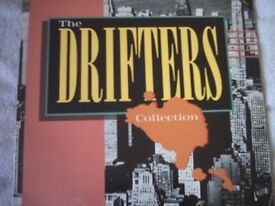 Vinyl LP The Drifters Collection Series CSSLP 204 Stereo 1988