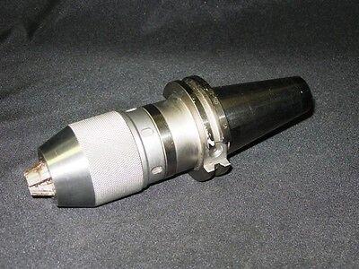 Used Lyndex Cat 40 12 Keyless Drill Chuck