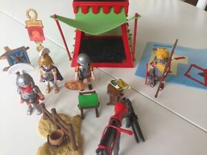 Playmobil Romans: galley ship, tent, soldiers, Kitchener / Waterloo Kitchener Area image 3