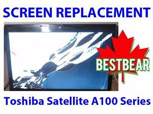 Screen Replacment for Toshiba Satellite A100 Series Laptop