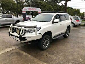 2018 Toyota Landcruiser Prado GDJ150R VX White 6 Speed Sports Automatic Wagon Croydon Maroondah Area Preview