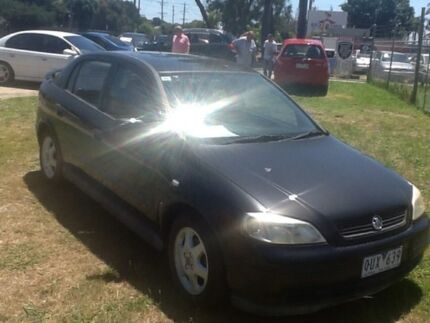 2001 Holden Astra Black Sedan