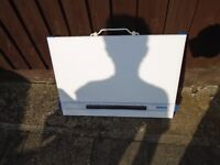 A3 TABLE TOP DRAWING BOARD WITH FOLDING LEGS IN WHITE