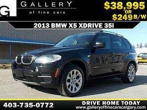 2013 BMW X5 xDrive 35i 7-Seat $249 bi-weekly APPLY NOW DRIVE NOW
