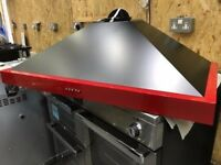 Jalapeno Red 100cm cooker hood