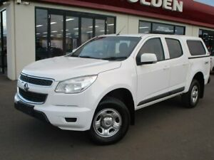 2016 Holden Colorado RG MY16 LS Crew Cab White 6 Speed Sports Automatic Utility Goulburn Goulburn City Preview
