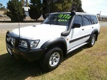 2003 Nissan Patrol GU III ST (4x4) White 4 Speed Automatic Wagon Meningie The Coorong Area Preview