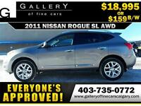 2011 Nissan Rogue SL AWD $159 bi-weekly APPLY NOW DRIVE NOW
