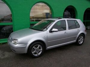 2000 Volkswagen Golf 4TH GEN Rally GL Silver 5 Speed Manual Hatchback Nailsworth Prospect Area Preview