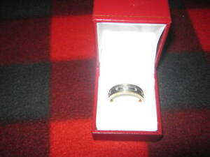 10K Gold Diamond ring Size 12