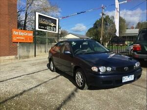 2001 Toyota Corolla AE112R Ascent Seca 4 Speed Automatic Liftback Lilydale Yarra Ranges Preview