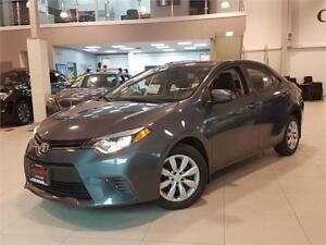 2015 Toyota Corolla LE-AUTO-REAR CAM-BLUETOOTH-ONLY 83KM