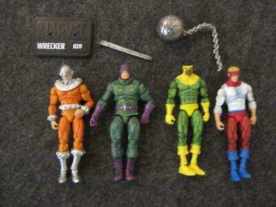 "Marvel Legends Universe 3.75"" loose Wrecking Crew set of action figures Hasbro"