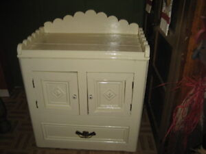 REDUCED TODAY! PRIMITIVE ANTIQUE PINE CABINET, 1 OF A KIND