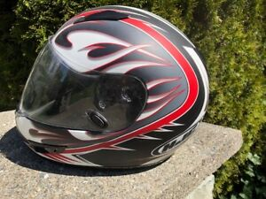 Red HJC CL-15 Session Full Face Motorcycle Helmet