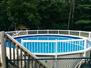 24 Foot by 52 Inch resin above ground swimming  pool for sale