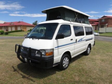 Toyota Hiace Camper – LOW KMS - AUTO Glendenning Blacktown Area Preview