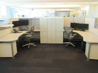 Used Office Cubicles Herman Miller Ethospace 6x8 Cubicles