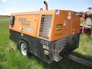 Sullair 375HDPQJD S/A Air Compressor - Mechanic's Special!