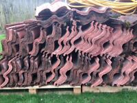 200 x Redland Grovebury roof tiles Farmhouse Red,
