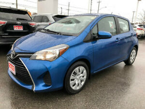 2015 Toyota Yaris LE-ONE OWNER!