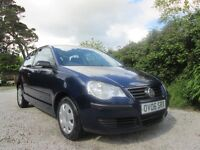 06 VW Polo 1.2 E 3 Door 75000 Miles, New MOT ( No Advisories) Service History, Immaculate Condition
