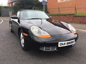 Quick Sale - Ideal for the summer weather coming! Jet Black Porsche Boxster in excellant condition.