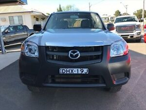 2009 Mazda BT-50 08 Upgrade B3000 DX (4x4) Silver 5 Speed Manual Dual Cab Chassis Young Young Area Preview