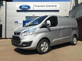 NEW Ford Transit Custom 2.0TDCi 105PS 270 L1H1 Trend in Silver + LED - Onsite