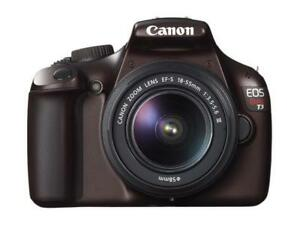 BODY ONLY! T3 Canon EOS REBEL 12.2 MP DSLR Camera. NO Lens