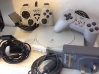 PlayStation One in good and working condition