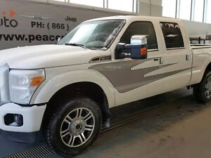 2013 Ford F-350 Platinum Lariat 4x4 SD Crew Cab 6.75 ft. box 156