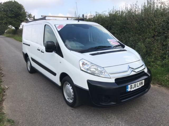 2011 11 CITROEN DISPATCH LX 1200 L2H1 LWB HDI 120 DIESEL