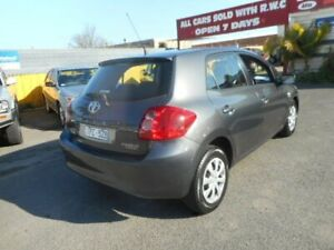 2007 Toyota Corolla ZRE152R Ascent Grey 4 Speed Automatic Hatchback Moorabbin Kingston Area Preview