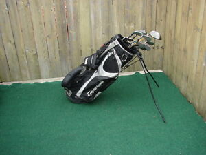 Men's Right Hand Golf sets Taylormade with taylormade bag
