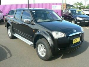2009 Great Wall V240 K2 (4x2) Black 5 Speed Manual Dual Cab Utility Dubbo Dubbo Area Preview