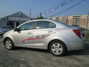 2014 Chevrolet Sonic LS  MANUAL SHIFT