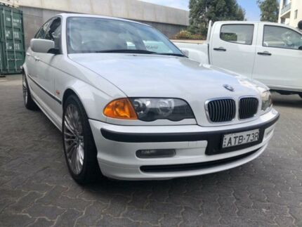 1999 BMW 323i White 5 Speed Manual Sedan North Strathfield Canada Bay Area Preview