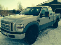 2008 Ford F-250 Superduty 4x4 Extended Cab