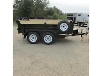 New 2016 Mirage 6X10 Utility Dump Trailer