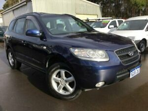 2007 Hyundai Santa Fe CM MY07 SLX (4x4) Blue 4 Speed Automatic Wagon Margaret River Margaret River Area Preview