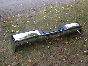 New 06-08 F150 Chrome rear step bumper with pad