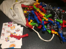 Zoob construction toy large number of pieces