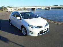 2014 Toyota Corolla ZRE182R Ascent Sport S-CVT White 7 Speed Constant Variable Hatchback Hamilton East Newcastle Area Preview