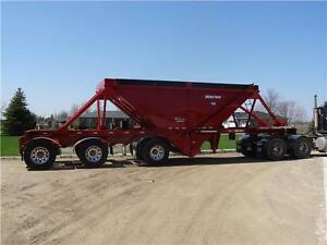 Hopper Bottom Gravel Trailers. SPRING ORDER SPECIAL