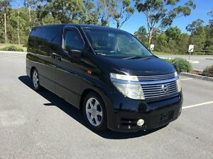 2004 Nissan Elgrand NE51 Highway St Black 5 Speed Automatic Wagon Arundel Gold Coast City Preview