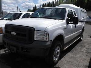 2005 Ford SF350 S/C LONGBOX 4X4 CARGO BODY SERVICE BODY $13,900