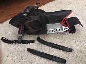 POLARIS RC REMOTE CONTROL SNOWMOBILE