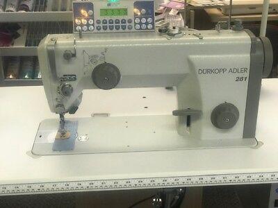 Brand New Durkopp Adler 281 High Speed Straight Stitch Industrial Sewing Machine